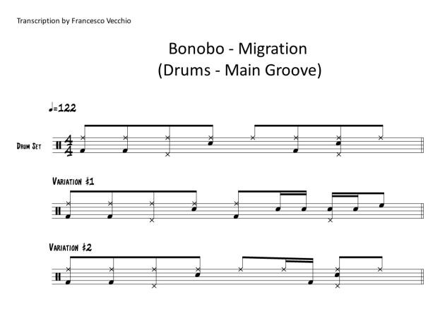 Bonobo Migration drums
