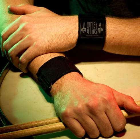 WristGrips for Drummers