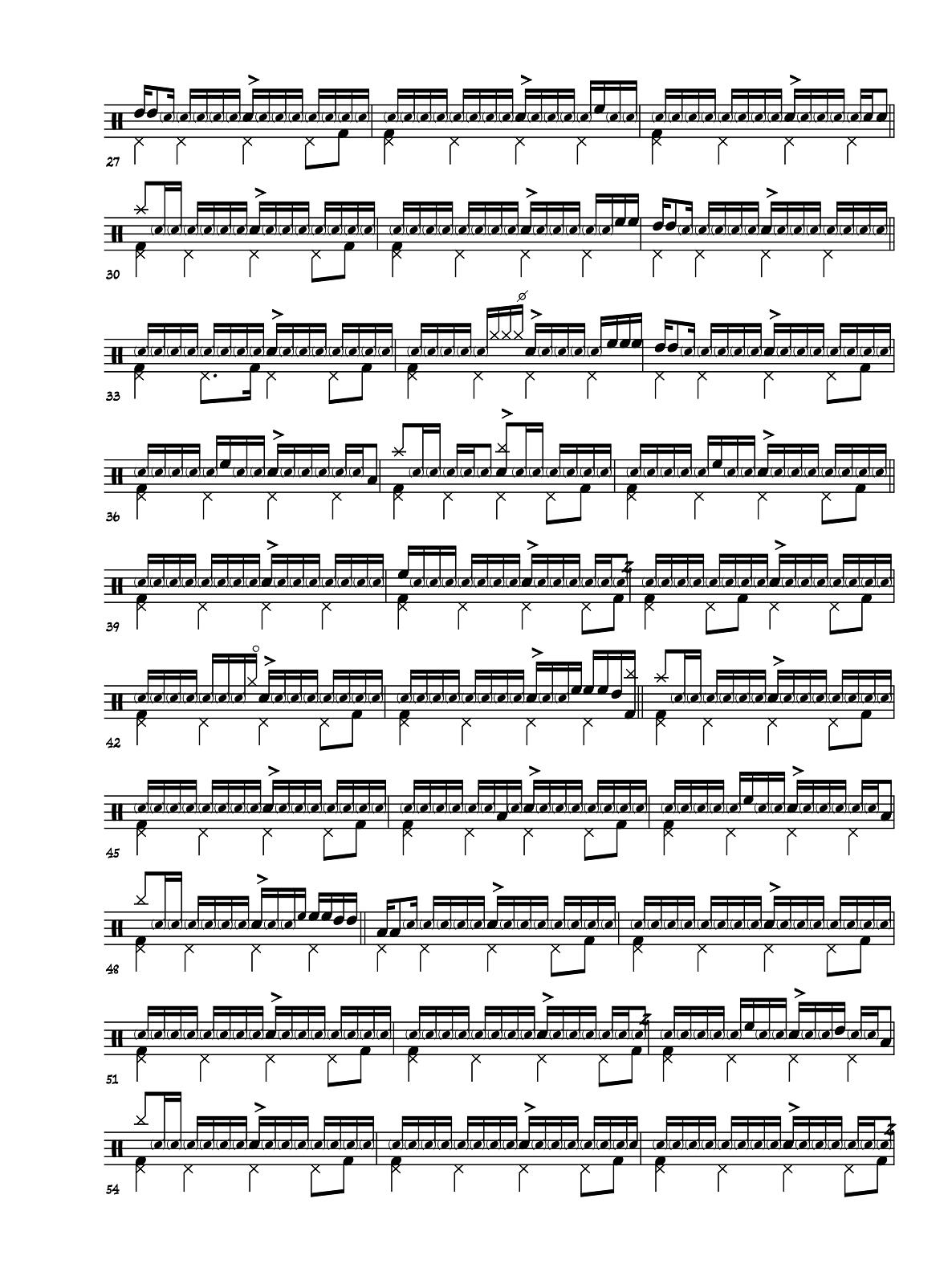 franco battiato la cura drum sheet music