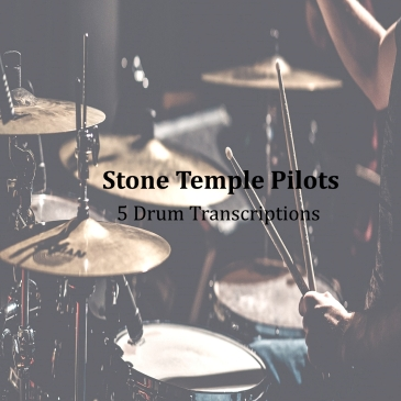 stone temple pilots drum transcriptions