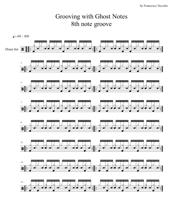 ghost notes on drums