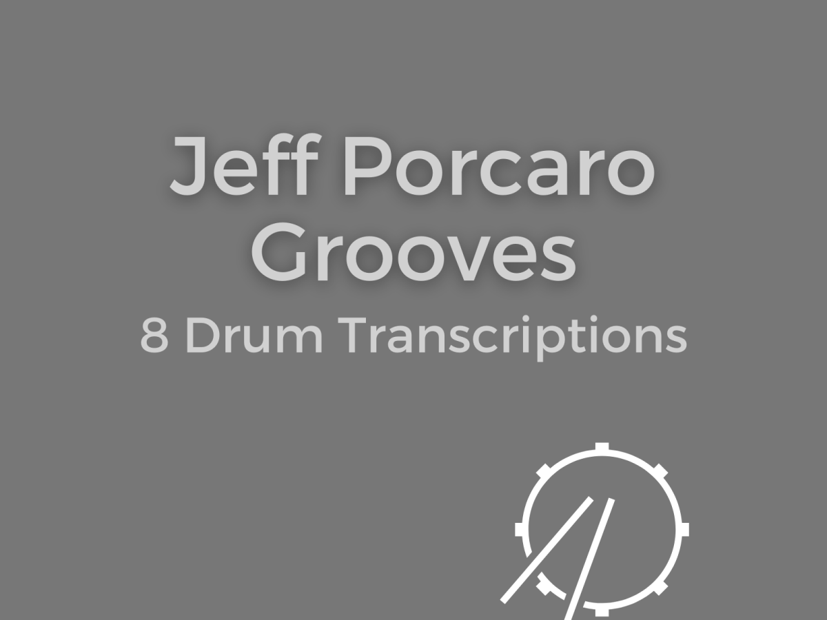 jeff porcaro drum transcriptions book