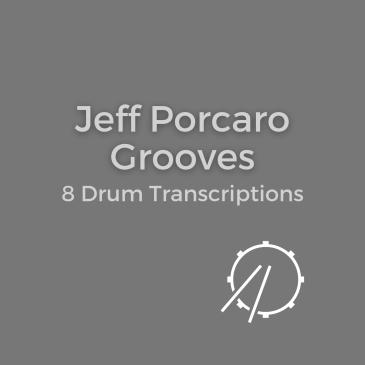 jeff porcaro drum transcriptions book