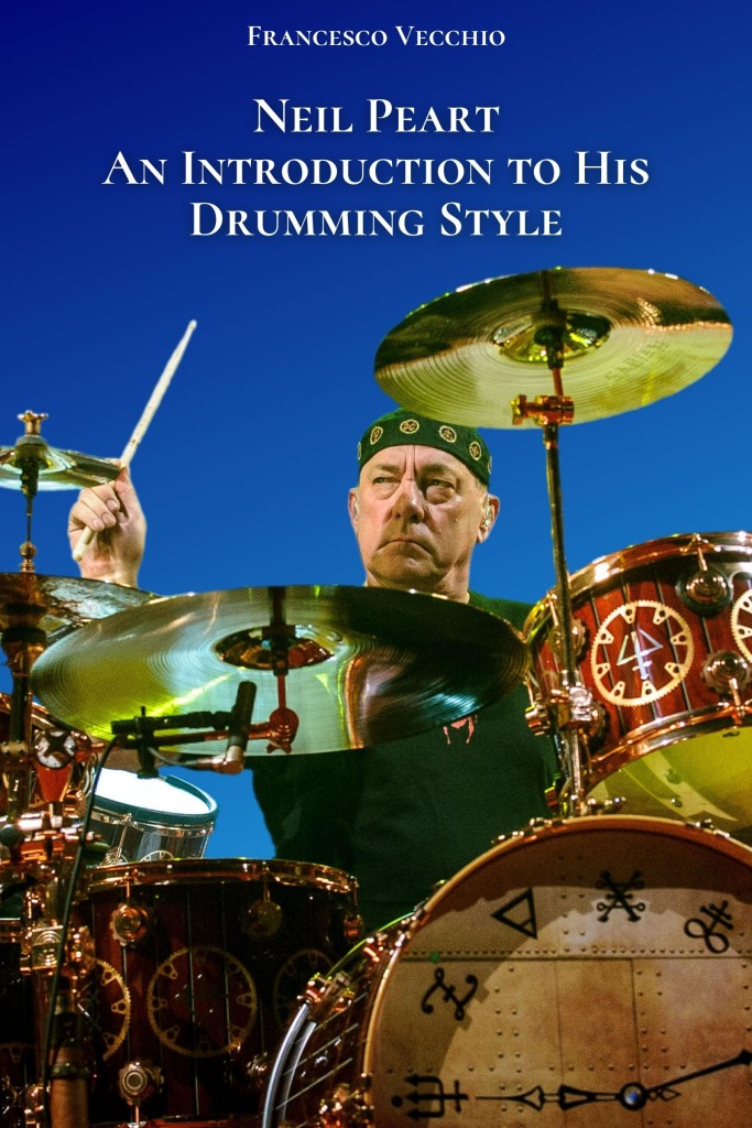 neil peart an introduction to his drumming style ebook cover art