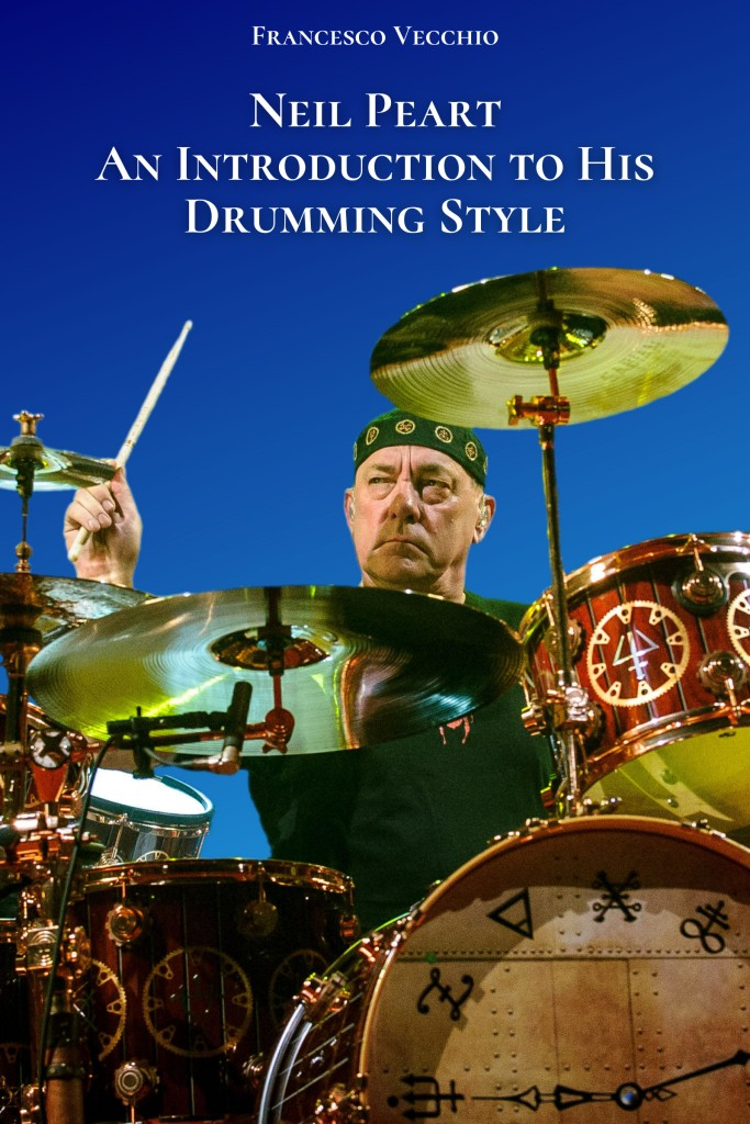 neil peart an introduction to his drumming style book cover